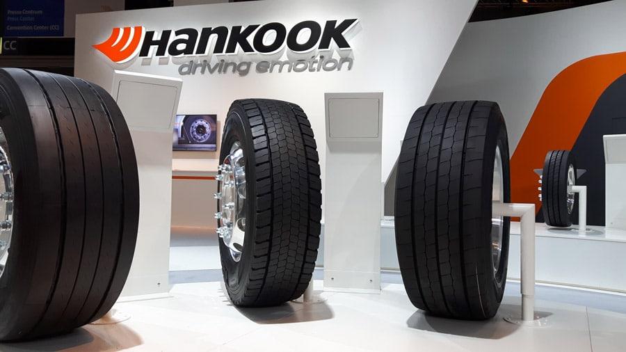 e-cube Blue : Hankook présente de nouveaux pneus poids lourd