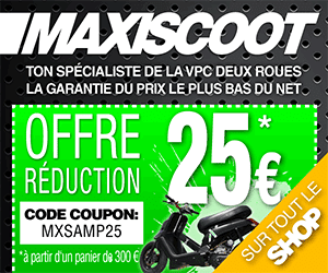 Code Coupon Maxiscoot tout le magasin