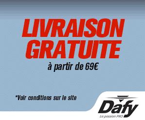 Livraison gratuite Dafy Moto