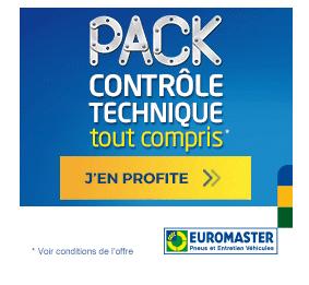 Pack controle technique tout compris Euromaster