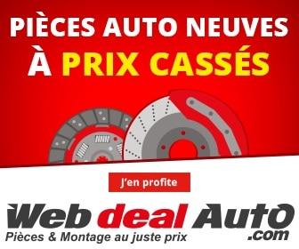 Promo pièces auto web deal auto