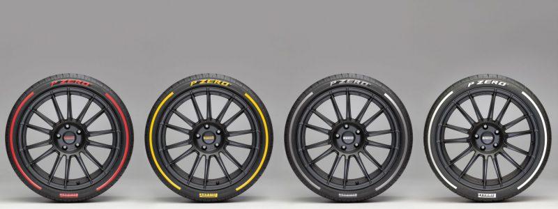Pirelli pneu colore