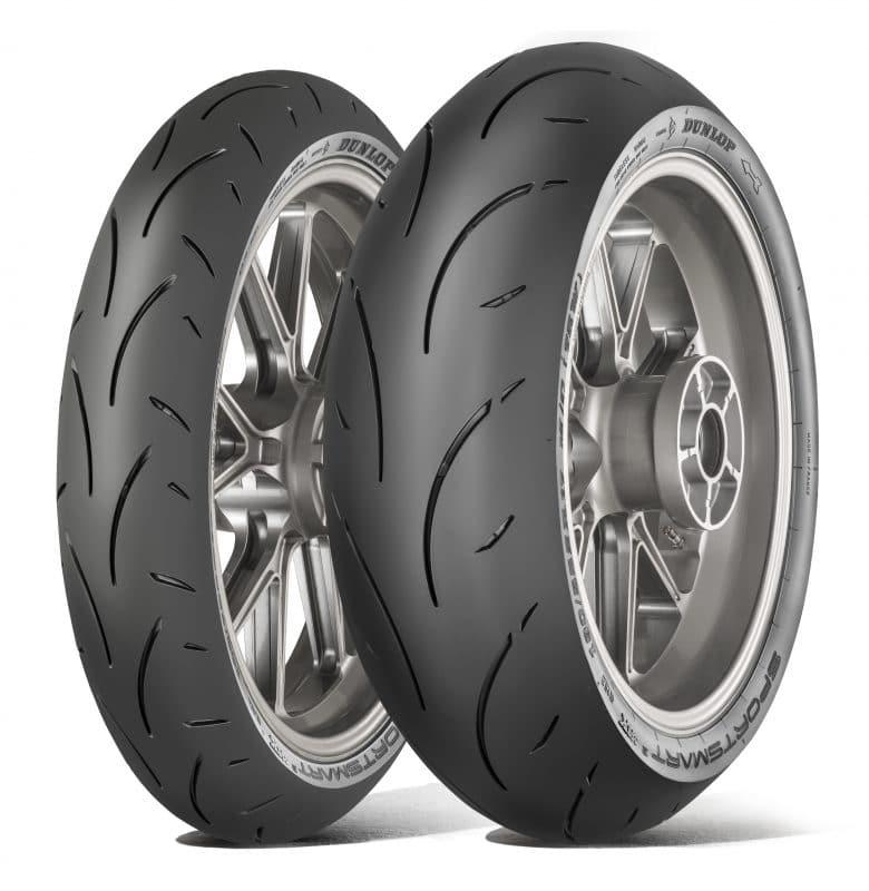 Nouveaux pneus moto Dunlop SportSmart 2 Max