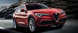 Bridgestone est choisi par Alfa Romeo pour equiper son nouveau SUV avec le pneu Dueler HP Sport