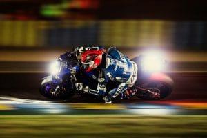 Yamaha Dunlop sur le circuit des 24H du Mans