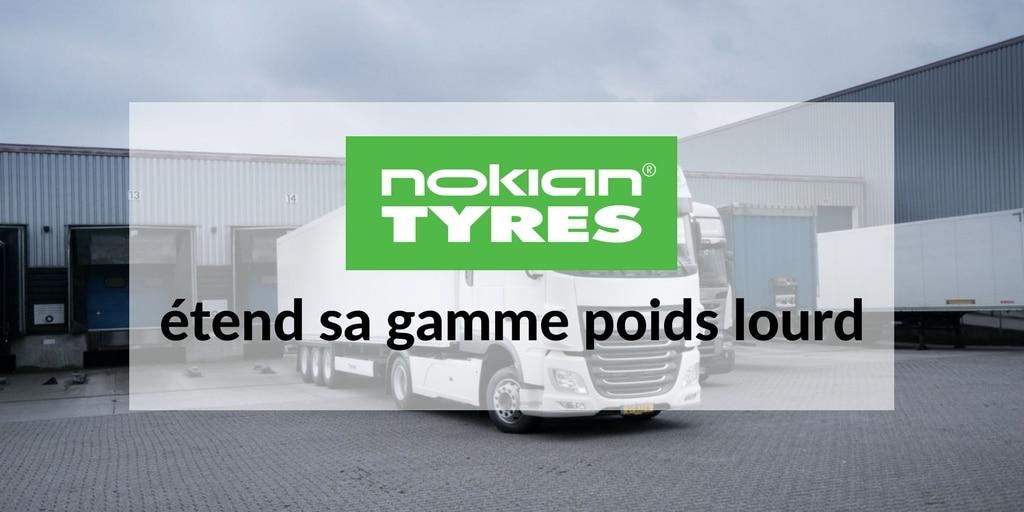 Nokian étend sa gamme poids lourd
