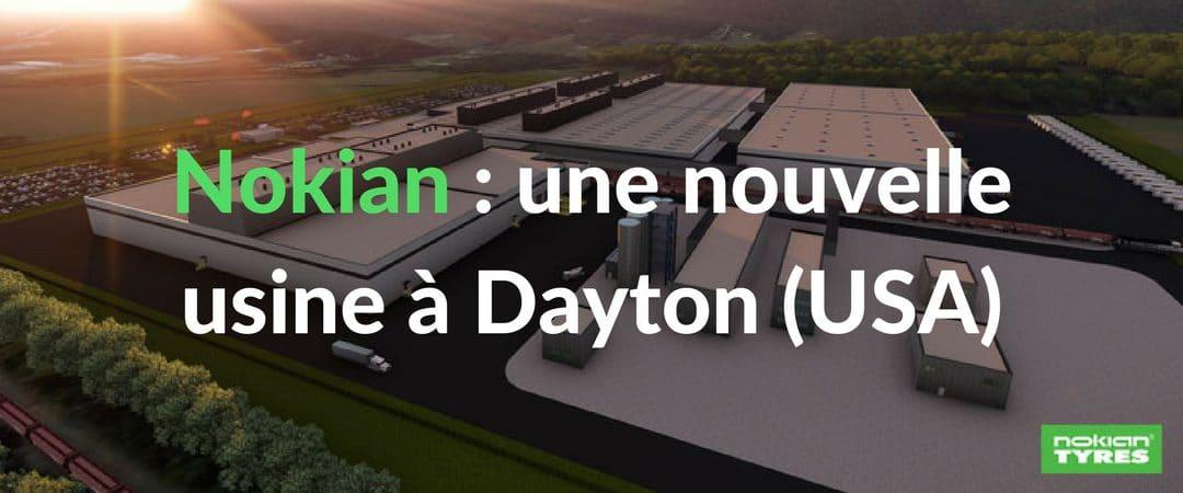 Nokian Tyres : tout savoir sur la nouvelle usine aux États-Unis