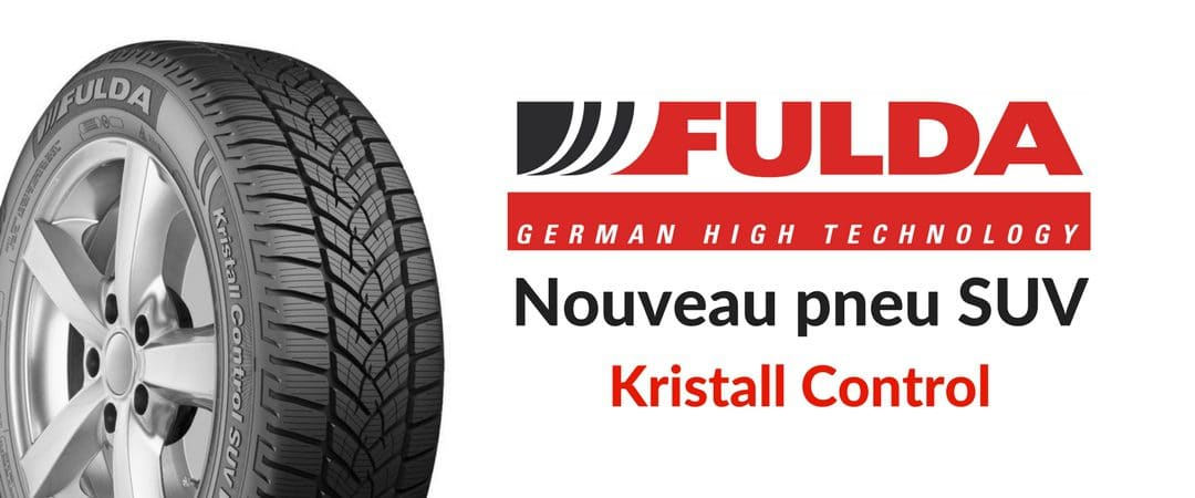 Kristall Control SUV : nouveau pneu hiver SUV Fulda (Goodyear)