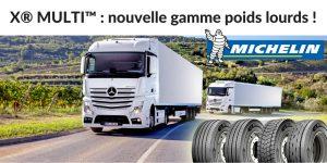 La nouvelle gamme de pneus camion de Michelin