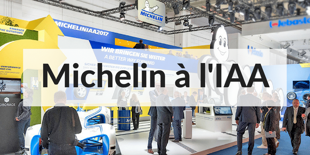 Michelin frappe fort au Salon de l'Automobile de Francfort (IAA) !