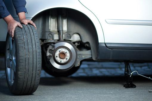 Entretien et changement des pneus