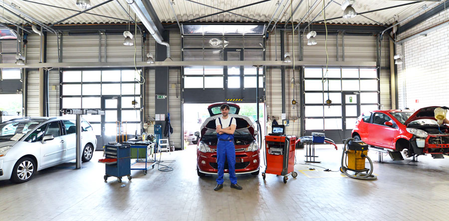 Professionnel changement pneus