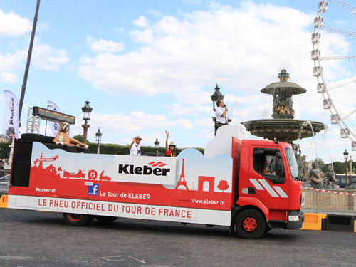 Kleber est le sponsor officiel du Tour de France