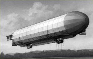 Continental fait voler le LZ 1 en 1900