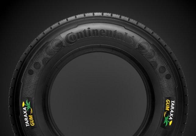 Le pneu à base de pissenlit pensé par Continental