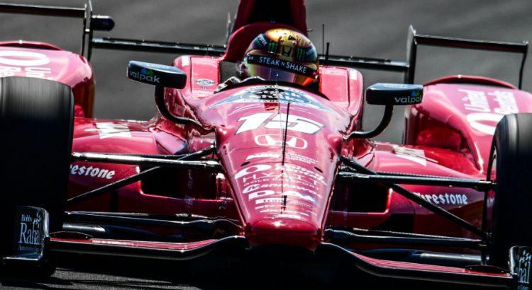 Le pilote Graham Rahal a gagné la 14ème étape du IndyCar le 28 août 2016