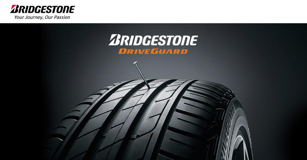 Pneu Runflat Bridgestone Driveguard