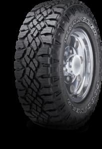 Le pneu Goodyear Wrangler DuraTrac