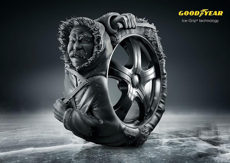 Innovation Goodyear Ice-Grip