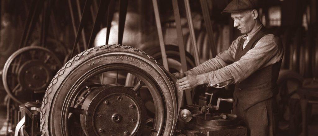 Histoire du manufacturier Goodyear