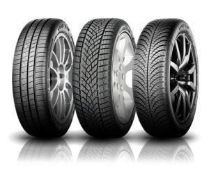 La gamme de pneus Gooyear