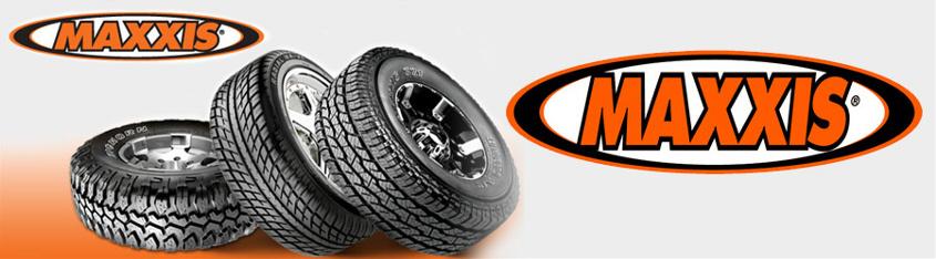 La gamme de pneus Maxxis