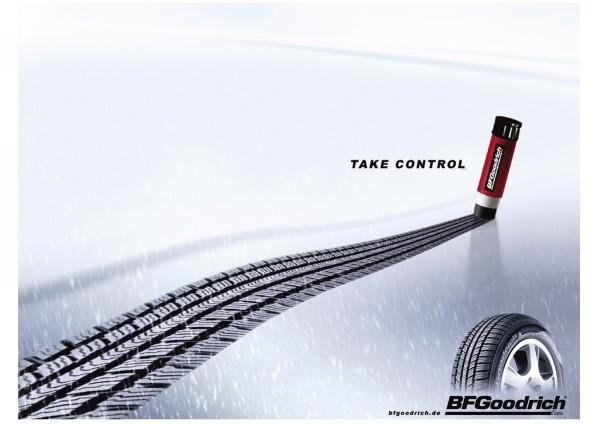 Publicité Bf Goodrich Take Control
