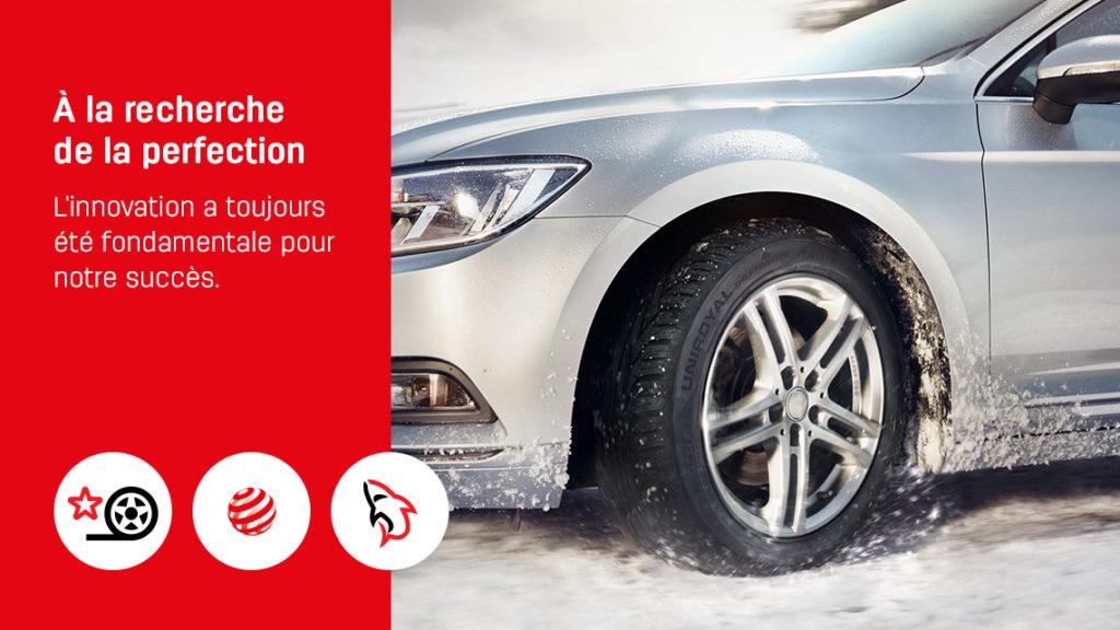 Uniroyal crée des pneus innovants