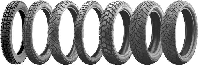 La gamme de pneus moto Heidenau