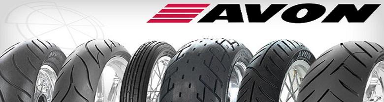 Gamme pneus moto Avon Tyres