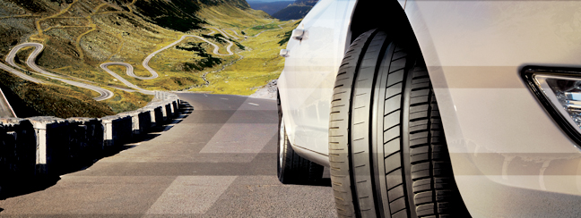 La marque de pneus Avon
