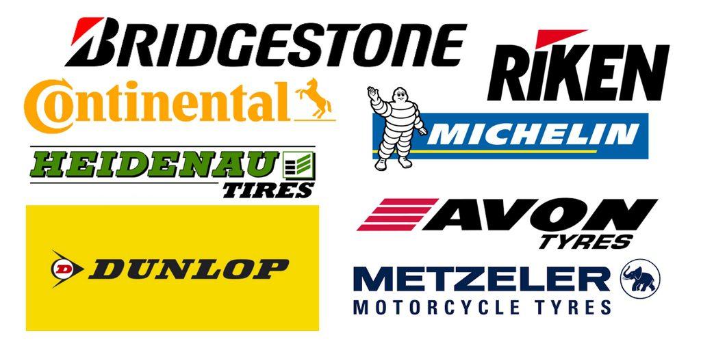 Les meilleures marques de pneus moto