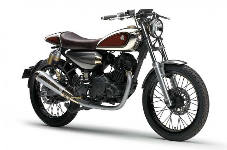 Moto retro 125