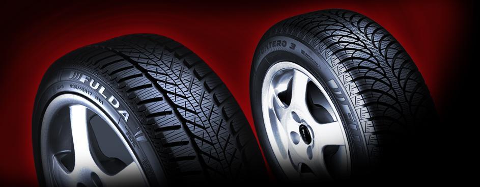 Les pneus de la marque Fulda