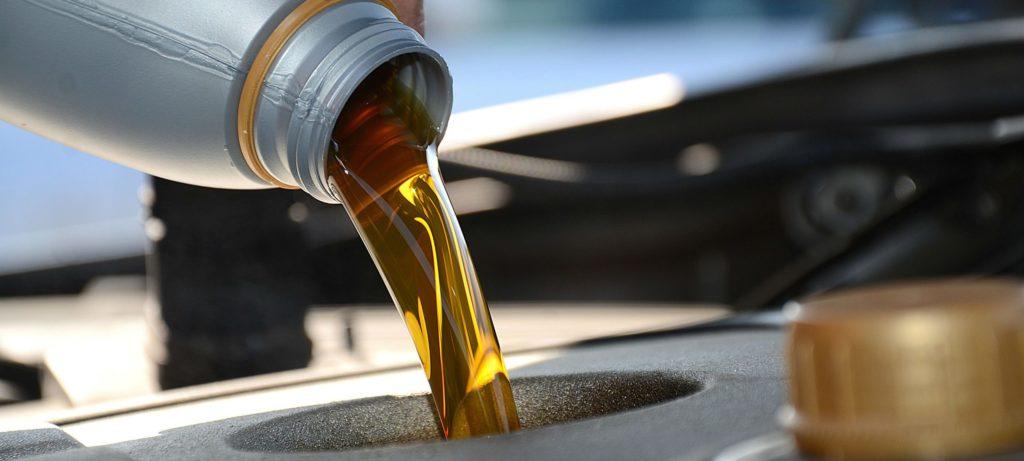 Niveau huile voiture