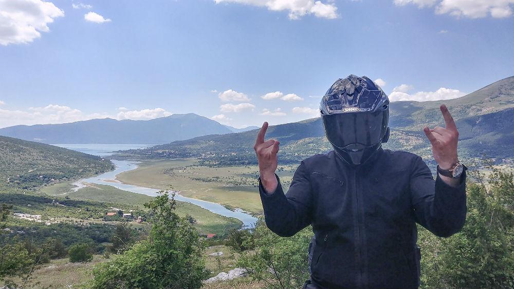 Roadtrip motard Lac Busko Bosnie-Herzegovine