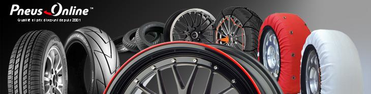 Gamme de produits pneus Online