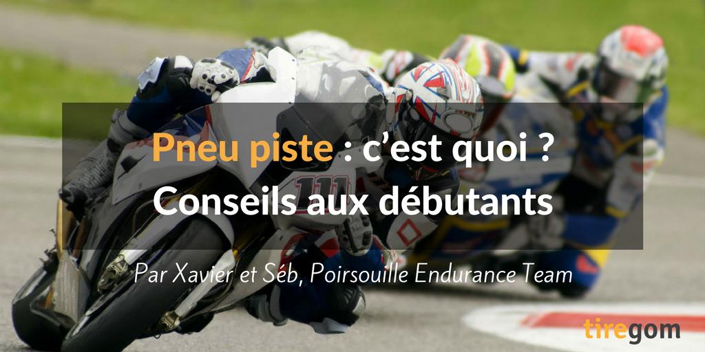 Conseils debutants moto piste