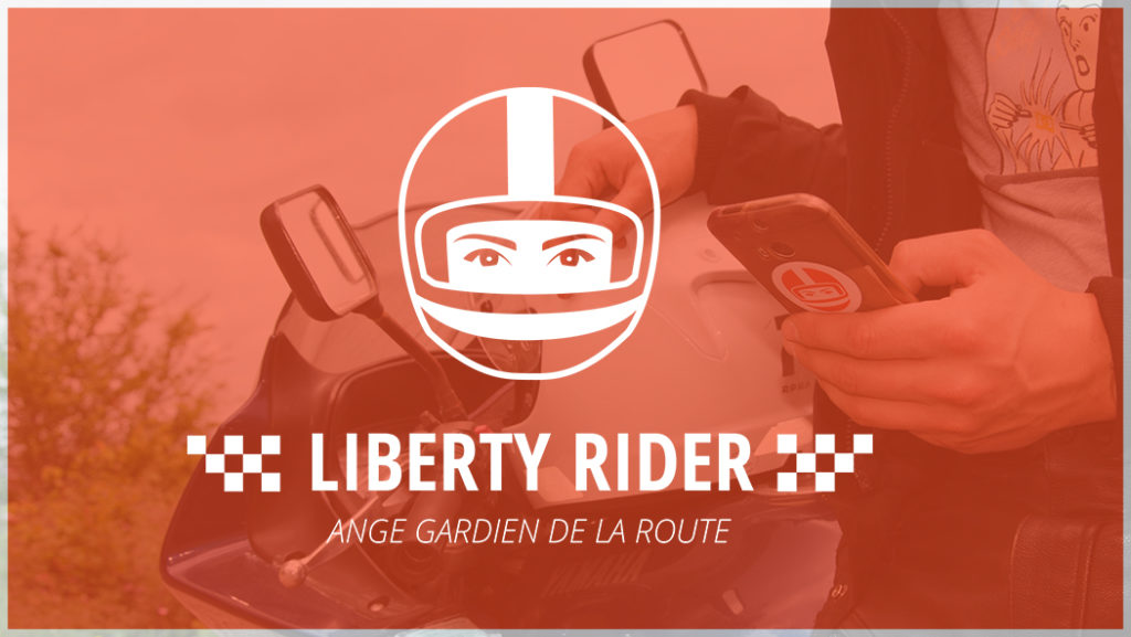Application moto sécurité Liberty Rider