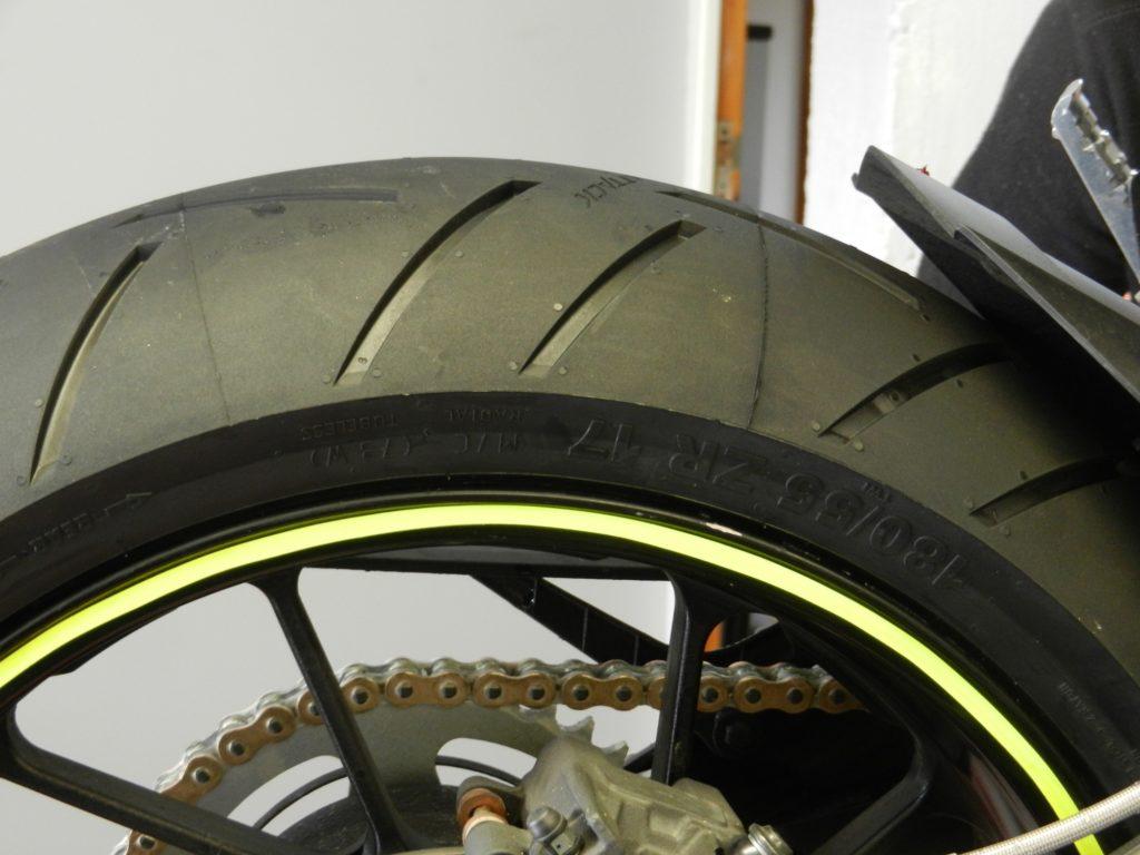 Profil pneu Continental Sport Attack III