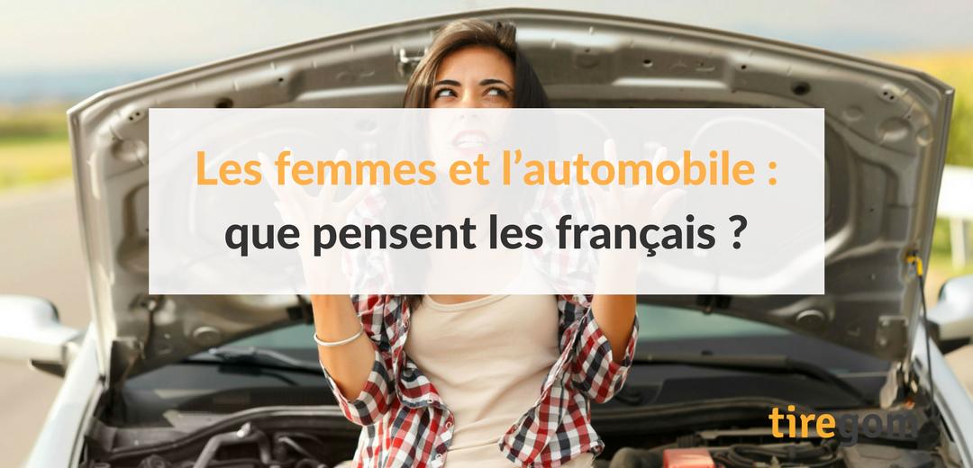 Étude, sondage et infographie sur les stéréotypes sur les femmes dans l'univers automobile