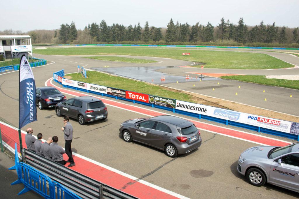 Le pneu Turanza T005 testé sur circuit