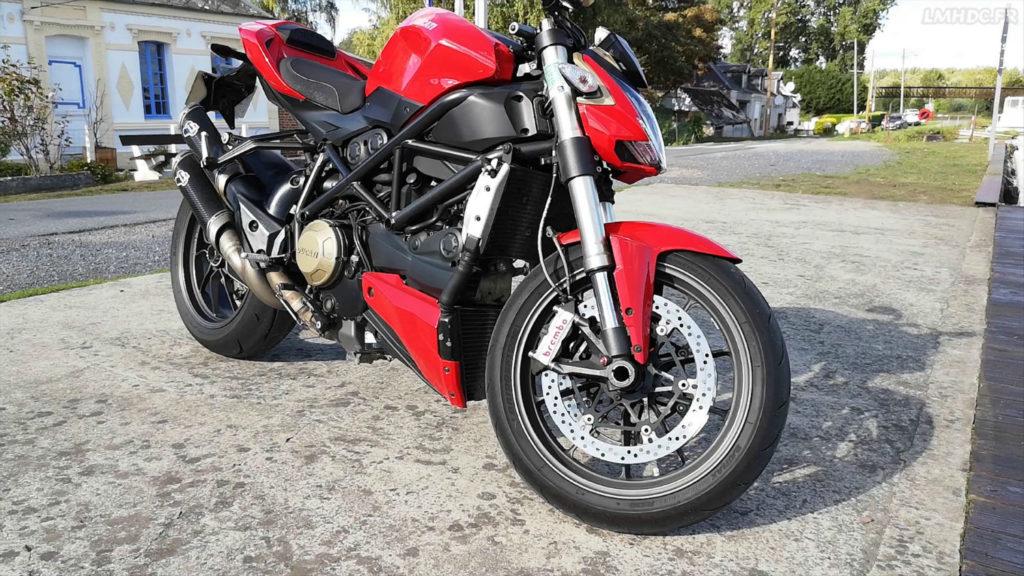Pneu Ducati Streetfighter